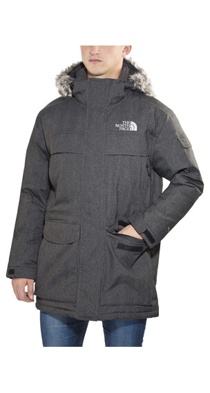 The North Face McMurdo Jas Heren grijs